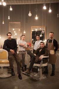 Tonsor Club, lo staff del nuovo barber shop in via Palermo 15, Milano