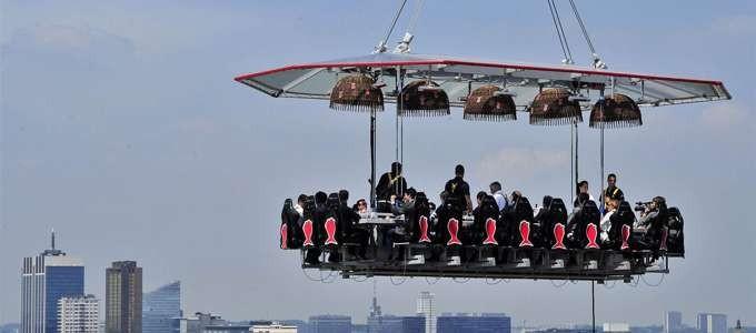 Cenare sospesi nel vuoto sopra Milano? Con Expo 2015 e Cnhi experience in the sky si può! Ecco come e dove vivere un'esperienza mozzafiato!