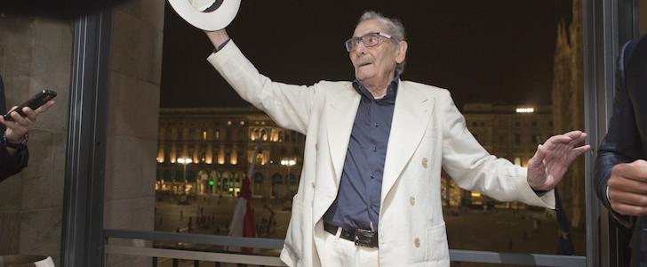 """Giacomo Bulleri: le foto del 90° compleanno del """"Giacomo di Milano"""", il party all'Arengario"""