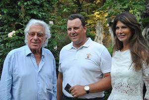 Cino Tortorella,  Matteo Lasagna - Presidente Confagricoltura Lombardia e Susanna Messaggio