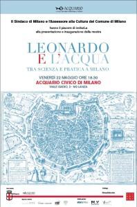 Leonardo e l'acqua all'Acquario Civico