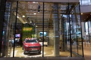 Temporary Store Jeep Milano