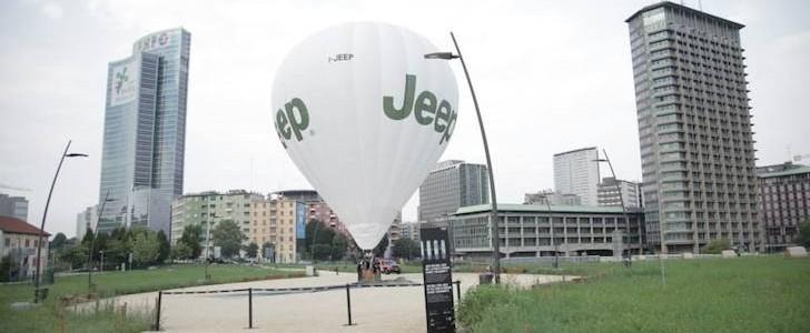 Jeep Milano mongolfiera
