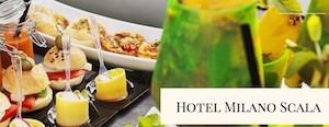 Aperitivo Green Milano Hotel Milano Scala - screenshot dal sito