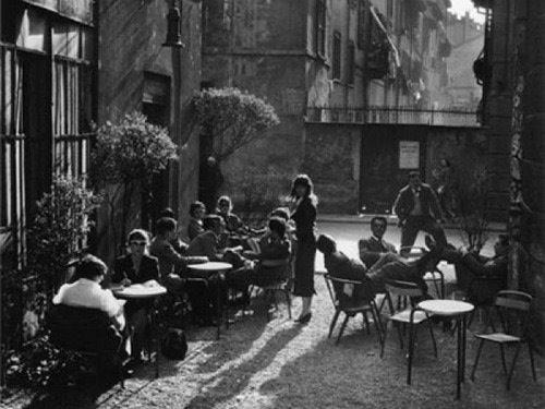 Ferragosto vecchia Milano