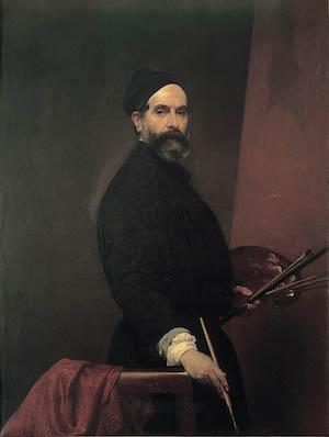Francesco Hayez, ritratto