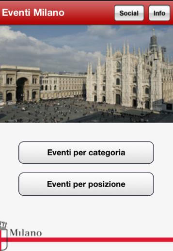 Eventi Milano app