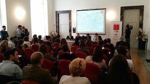 ExpoinCittà: Boom di agosto, Milano registra +49% di turisti. Oltre un milione le presenze agli appuntamenti. Un'immagine dalla conferenza stampa a Palazzo Giureconsulti, martedì 7 settembre (di spalle ci siamo anche noi!)