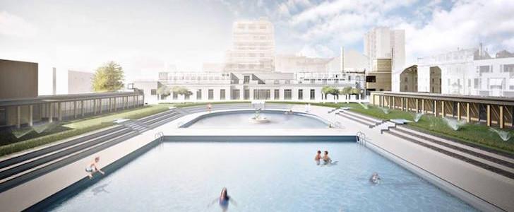 Ad ottobre 2015 nel cuore di milano torna la piscina caimi for Piscina cozzi milano