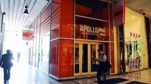 Cinema Apollo - posizione