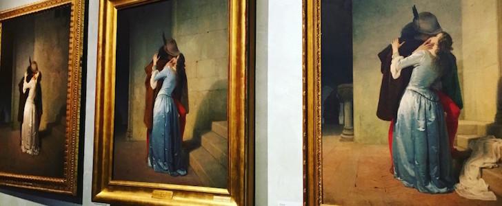 Il bacio più famoso al mondo? Quello di Hayez, protagonista a Milano insieme ad altre opere di una mostra che svela un lato romantico della città, eccolo in anteprima!
