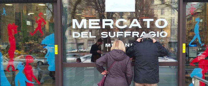 Mercati di Milano: riaperto quello comunale, tanti eventi per il 2016 di Piazza Santa Maria del Suffragio
