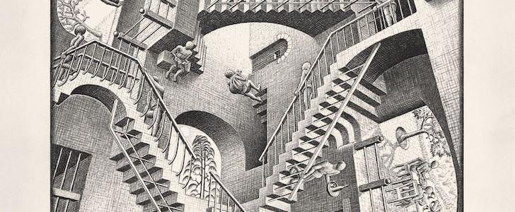 10 visitatori-tipo della mostra di Escher a Palazzo Reale a Milano