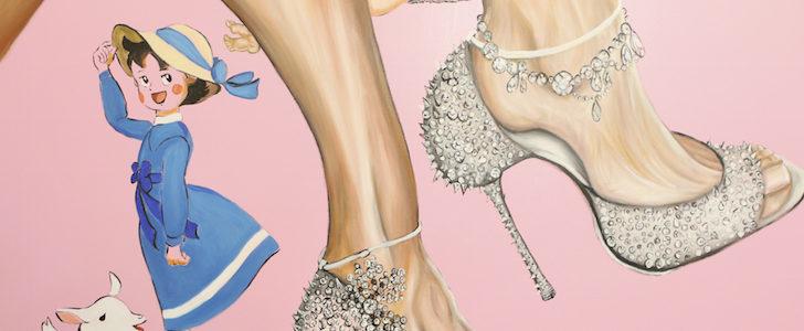 L'arte ai piedi delle donne: le scarpe Rizieri in mostra nella boutique di Brera, ecco perché passare