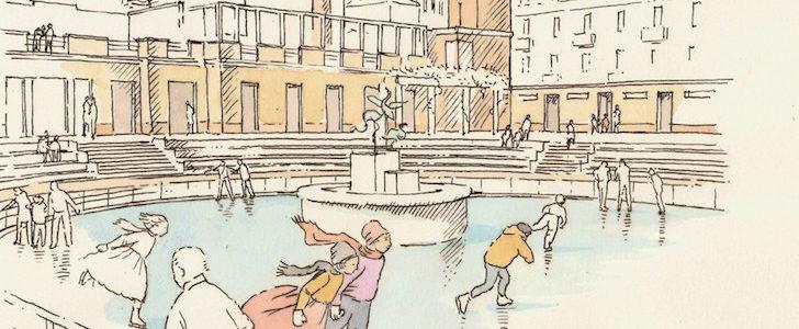 La Caimi d'inverno: la piscina numero uno di Milano si trasforma in patinoire sull'acqua, ecco fino a quando!