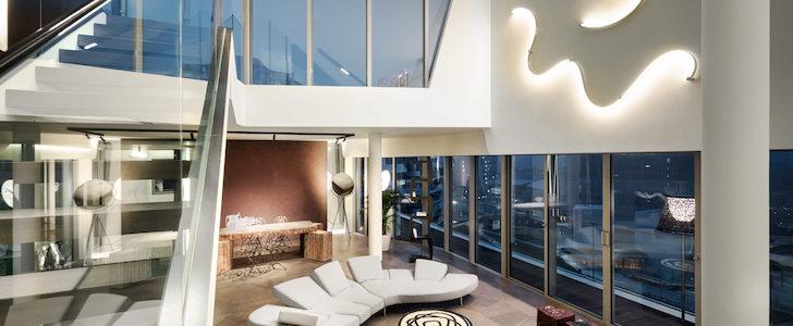 Penthouse one l 39 ultima suite in cima al grattacielo di for Attico libeskind milano