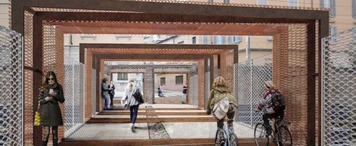 Il ponte verde sulla ferrovia di Porta Genova: come sarà e quando riaprirà, nel 2017