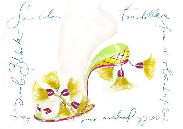 Manolo Blahnik Sketches__CADIZ