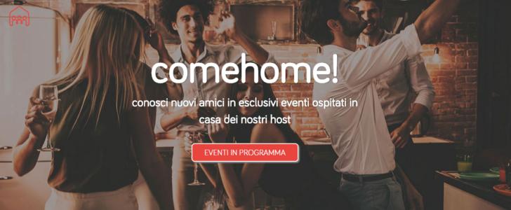 ComeHome!, l'app per imbucarsi con stile alle feste private di Milano