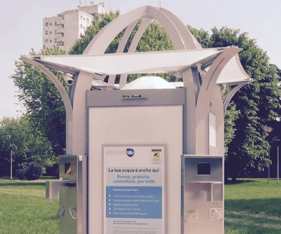 Case dell'acqua a Milano. Distributori gratuiti di acqua potabile