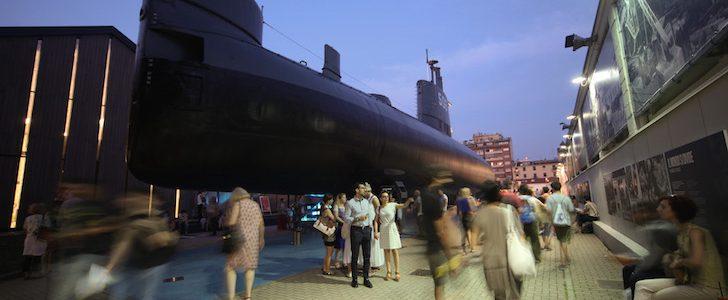 Museo della Scienza e del vintage: a Milano si balla dentro il sottomarino