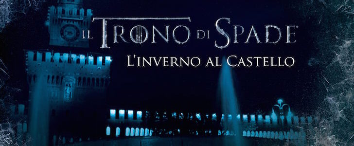 Trono di Spade al Castello Sforzesco per l'arrivo della settima stagione