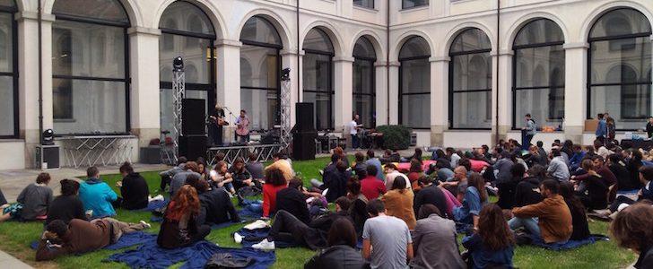Andrea Belfi live nella corte centrale delle Stelline di Milano – la recensione