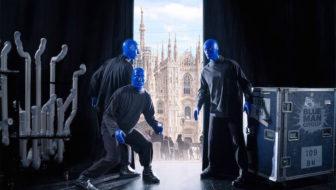Blue Man Group, Milano: la prima italiana dello show più colorato dell'anno!
