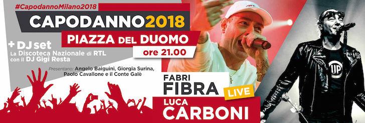 Capodanno 2018 in Piazza Duomo a Milano: tutto quello che c'è da sapere