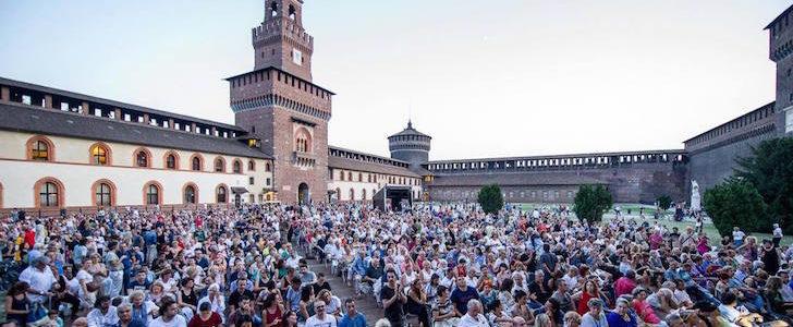 Estate Sforzesca 2018: il programma al Castello di Milano fino al 26 agosto