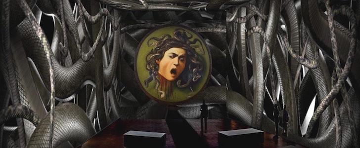 Caravaggio Permanente rockstar: una mostra immersiva Oltre la Tela