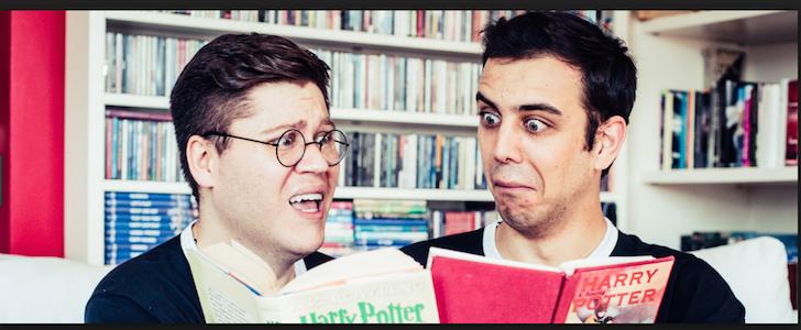 7 buoni motivi per vedere a teatro Potted Potter in 70 minuti