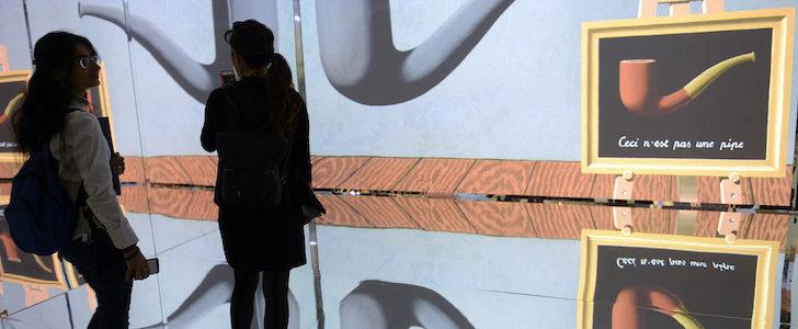 Mostra Inside Magritte, immersione alla Fabbrica del Vapore
