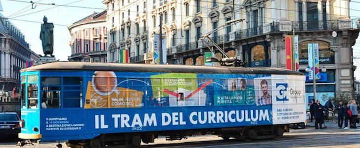 Il Tram del Curriculum torna a Milano per una settimana, ecco dove!