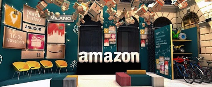 Amazon Loft for Xmas: Amazon apre a Milano il suo primo pop-up store!