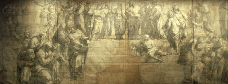 Pinacoteca Ambrosiana aperta gratuitamente per il Cartone di Raffaello
