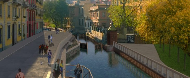 Il Ponte di San Marco: la storia della location di Aqua al Fuorisalone