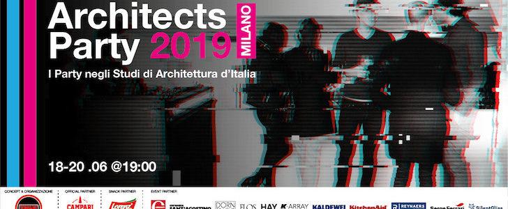 ArchitectsParty 2019: tutte le feste negli studi di architettura di Milano