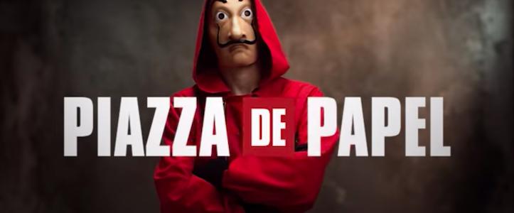 Casa de Papel sfida Piazza Affari: la nuova stagione stasera in anteprima