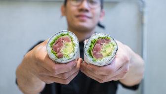 Sushi o burritos? Nel dubbio, Fusho: aperti (quasi) tutto agosto