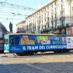 Il tram del curriculum torna a Milano per trovare lavoro! Ecco quando e dove